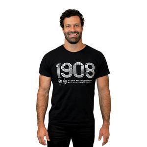 Camiseta 1908 Masculina - Preta