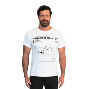 Camiseta Masculina Milagre do Horto