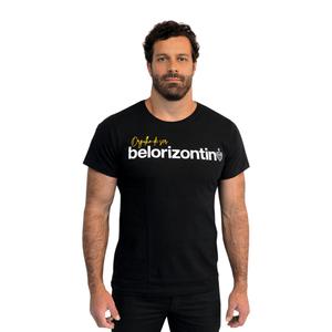 Camiseta Masculina Belorizontino - Preta