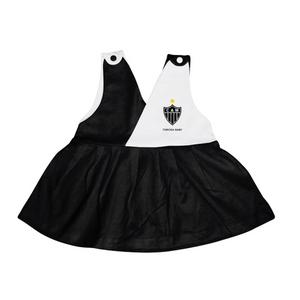 Vestido Alvinegro - Torcida Baby