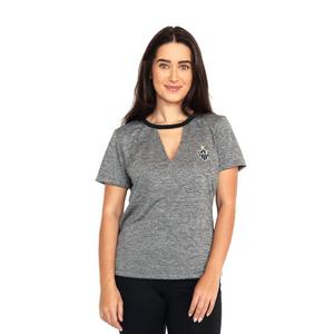 Camisa Feminina Pilus - Mescla Cinza