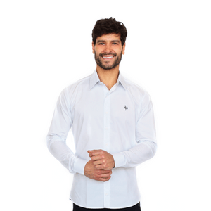 Camisa Social Masculina Galo Volpi - Branca