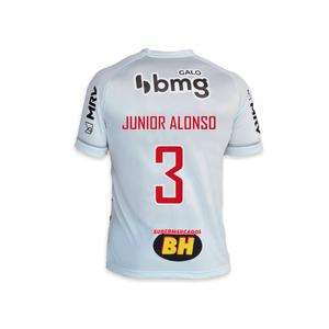 CAMISA JOGO 2 LE COQ CAM 2021 - Junior Alonso 3 – BRANCA